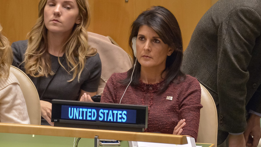 Washington's humiliation at UN is sign of a washed-up superpower