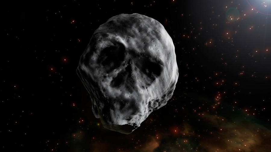 Return of the space skull: 'Halloween asteroid' to fly past Earth in 2018 (VIDEO)