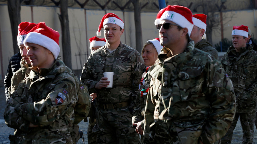'Not enough even for coffee': UK troops in Afghanistan get £1 each to celebrate Christmas