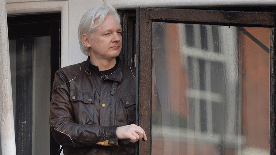 Julian Assange's Twitter account reappears after mysterious absence