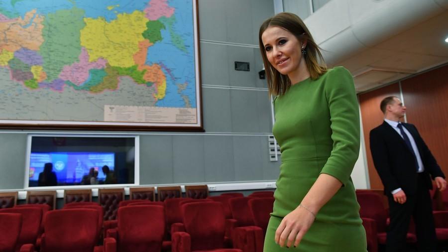 Socialite Ksenia Sobchak submits bid for Russian presidential race