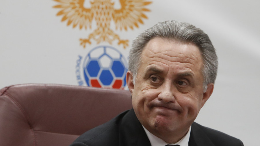 Russian Football Union chief Vitaly Mutko temporarily resigns, appeals lifetime Olympic ban