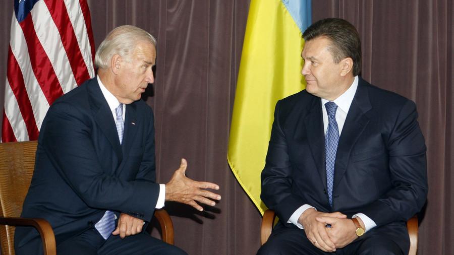 Biden told ex-Ukraine President Yanukovich to resign, former VP reveals in memoirs