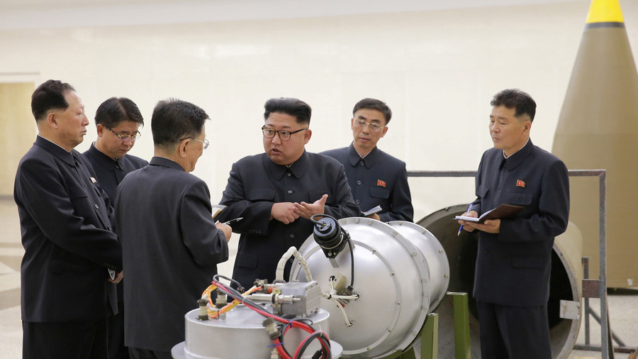 US sanctions 2 North Korean officials over missile program