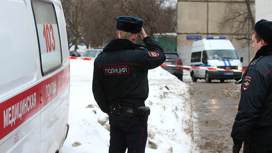 Police search for killer of security guard in Moscow