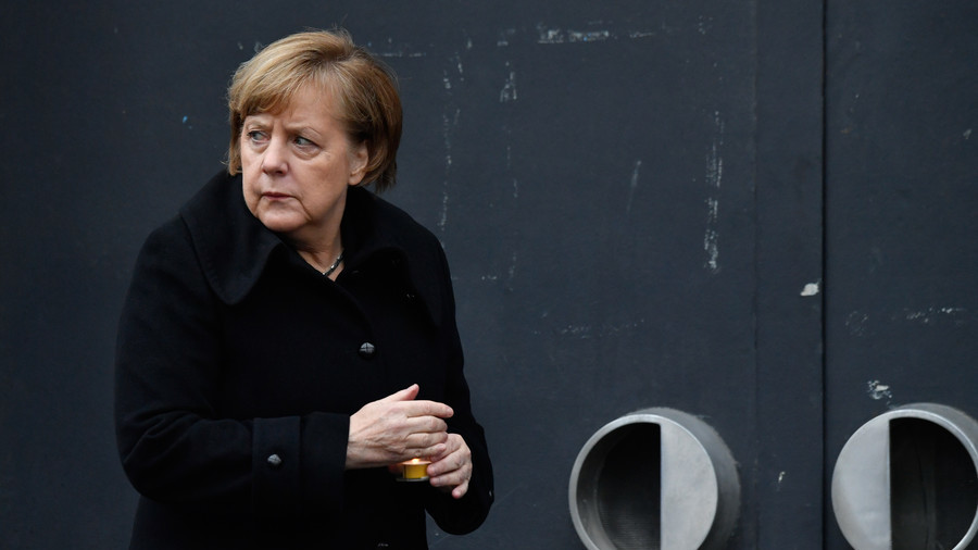 Poll suggests almost 50% of Germans want Merkel to step down