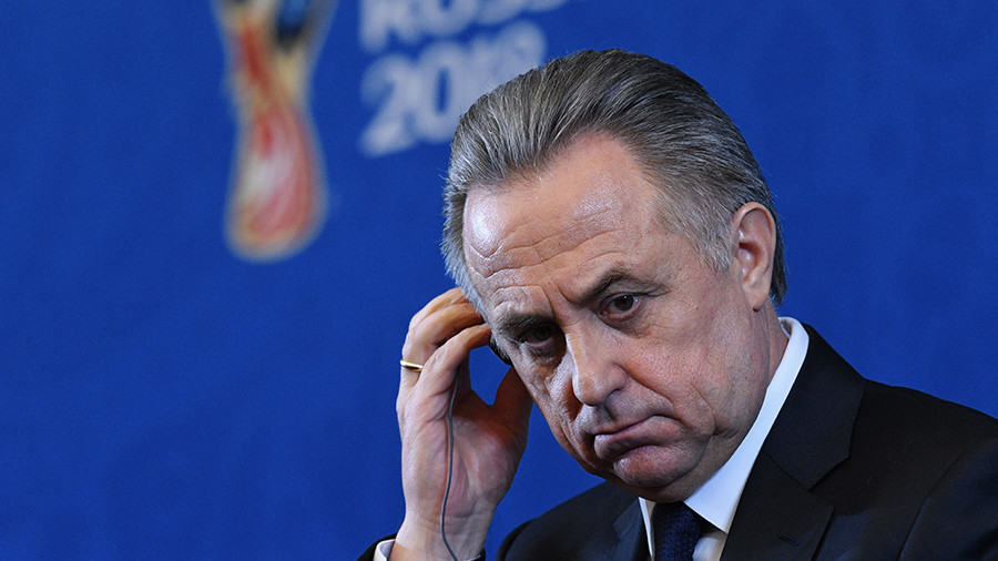 Mutko steps down as head of Russian World Cup organizing committee