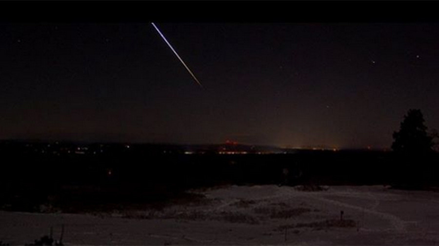 Possible meteor spotted flying through New England sky