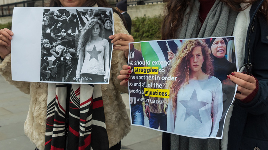 Twitter account of imprisoned Palestinian teenage girl Ahed Tamimi deleted