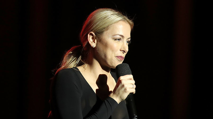Comedian Iliza Shlesinger sued over girls-only show