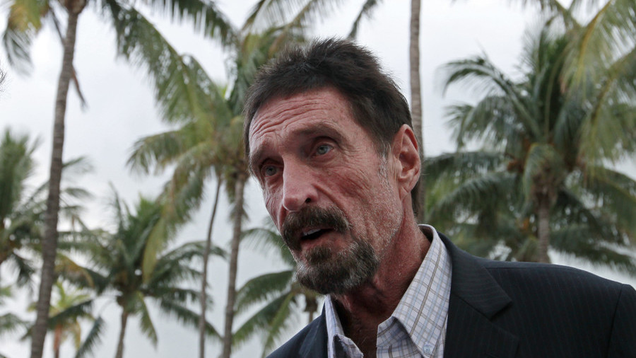 Cybersecurity guru McAfee claims his Twitter account hacked to promote alternate cryptocurrencies