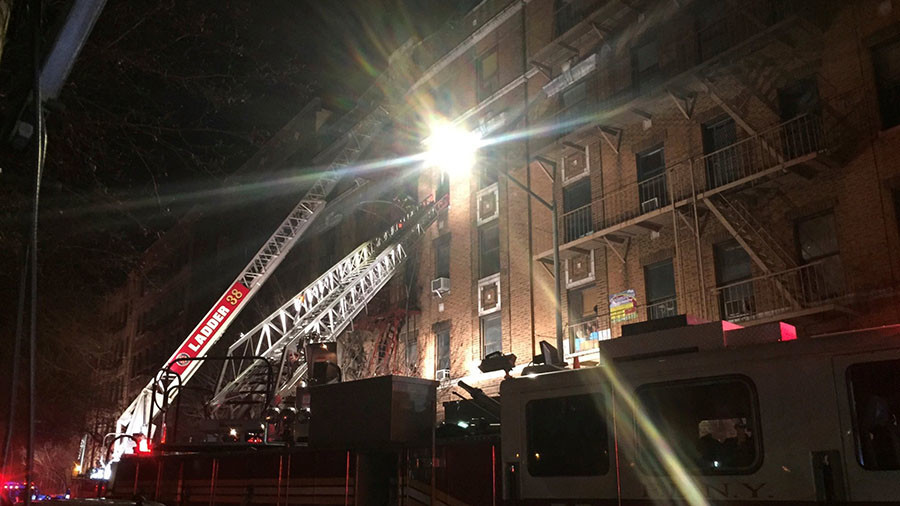 At least 12 killed in Bronx apartment fire