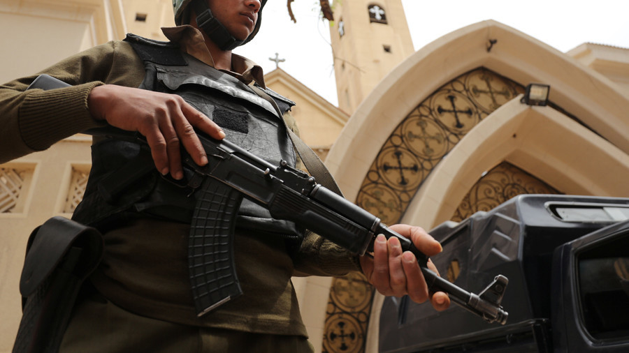 Ten dead in church attack near Cairo, attacker killed