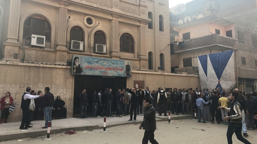 11 killed in gun attack at Coptic Church in Cairo, ISIS claims responsibility (GRAPHIC VIDEO)