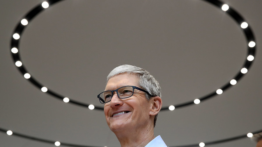 Tim Cook's pay jumps 47pc as Apple beats targets