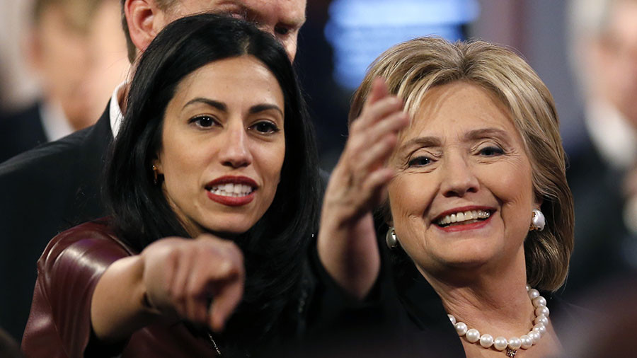 'Classified' Huma Abedin emails found on Anthony Weiner's laptop