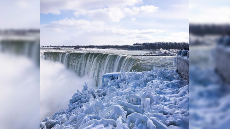 Niagara Falls 'freezes' as big chill grips Eastern US (PHOTOS, VIDEO)