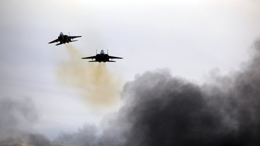 Israeli jets strike Gaza after shelling with 'Iran-supplied missiles'
