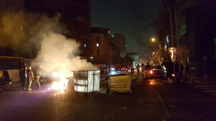 2 killed in protests across Iran overnight – local media