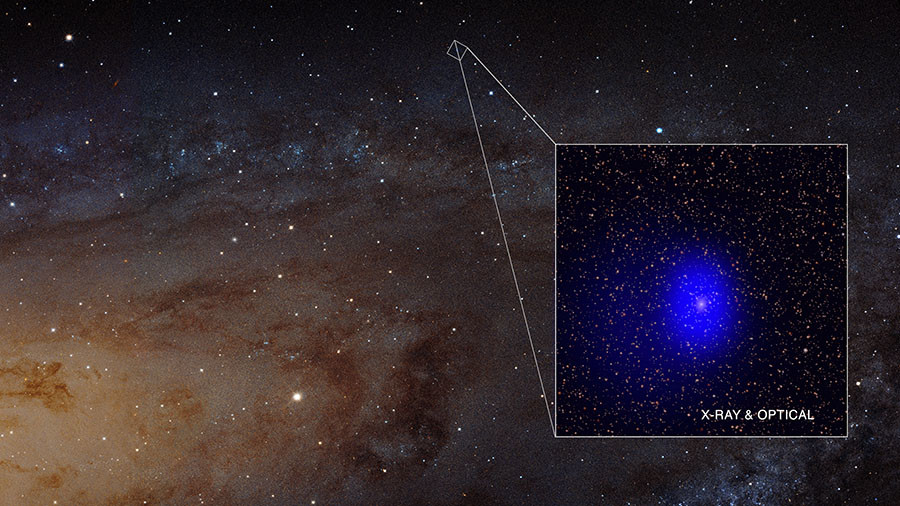 'Cosmic photobomb': Orbiting pair of giant black holes destined to merge (VIDEO)