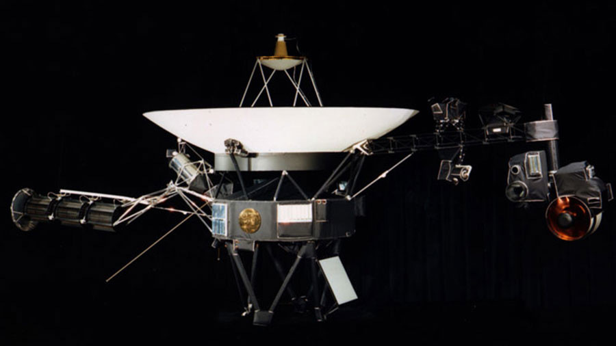 Is there anybody out there? Voyager 1 fires up thrusters dormant since 1980