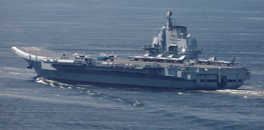 China deploys 'jellyfish shredders' to protect its fleet of aircraft carriers