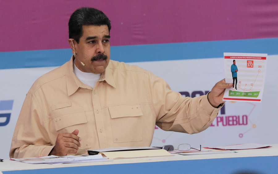 Venezuela to launch 'Petro' cryptocurrency to fight Trump's 'financial blockade'