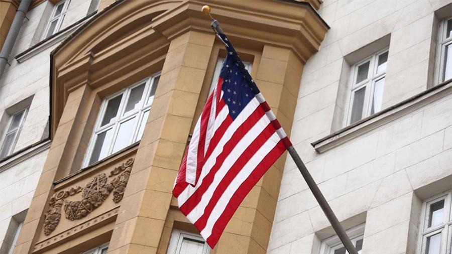 US ambassador sees no link between RT America's FARA registration & loss of Congress credentials?