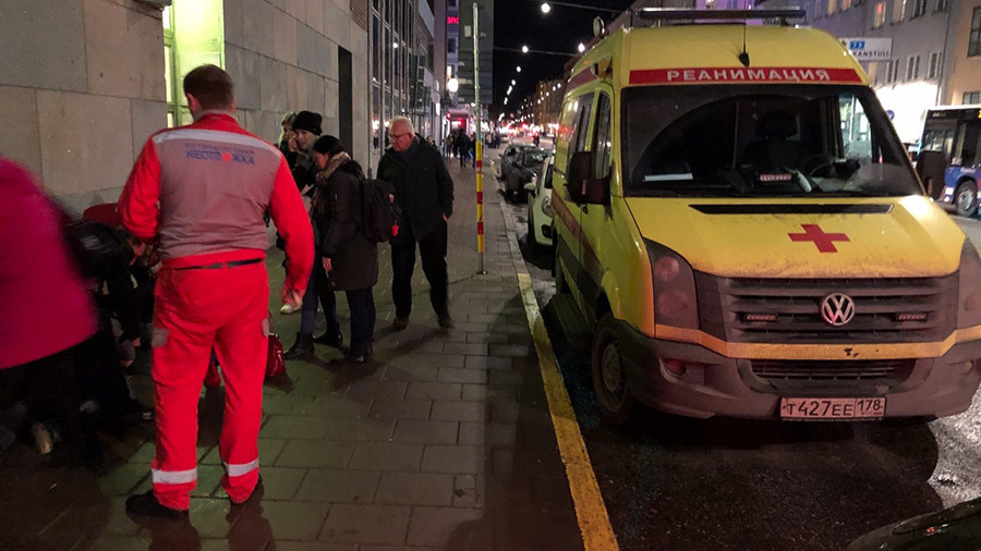 Russian ambulance emerges in Stockholm still reeling from 'submarine incursion'