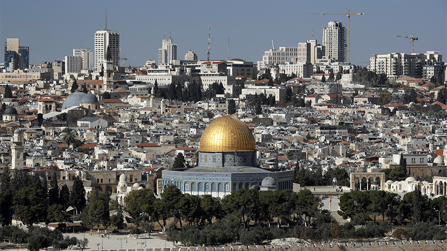 Palestinians outraged by Israel's 'colonial construction plan' for East Jerusalem