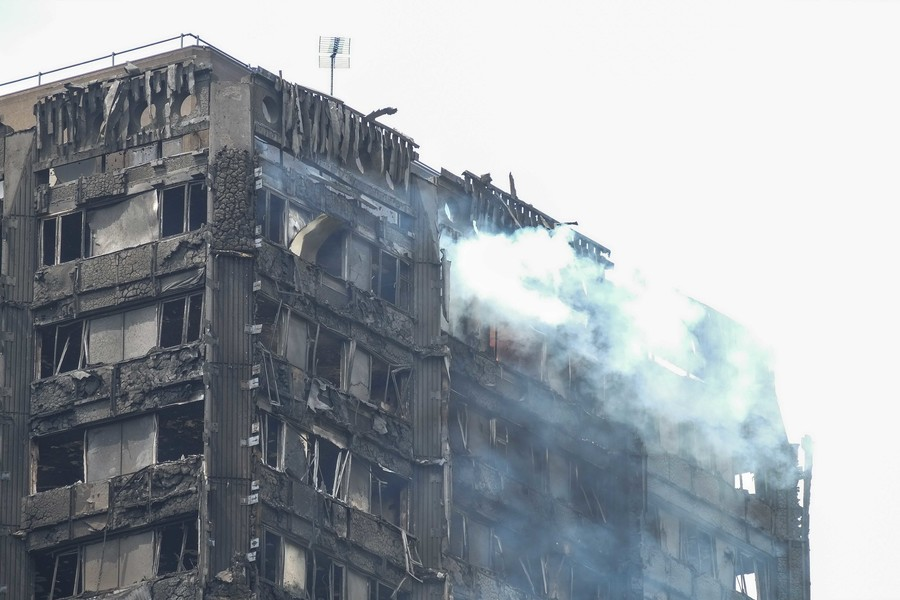 Building firms that installed cladding on Grenfell-style blocks rehired to remove it