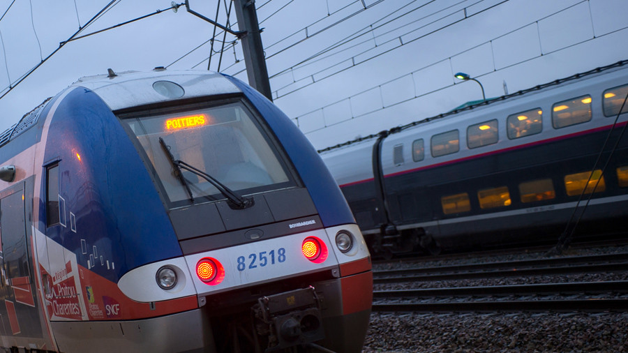 Trains collide outside German city of Duisburg, casualties reported