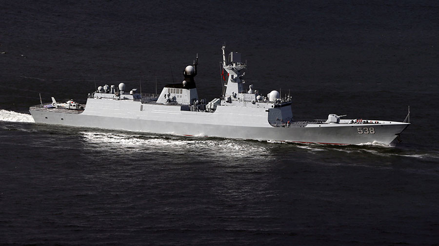Chinese Navy begins live-fire drills near N. Korea as S. Korea & US escalate activity