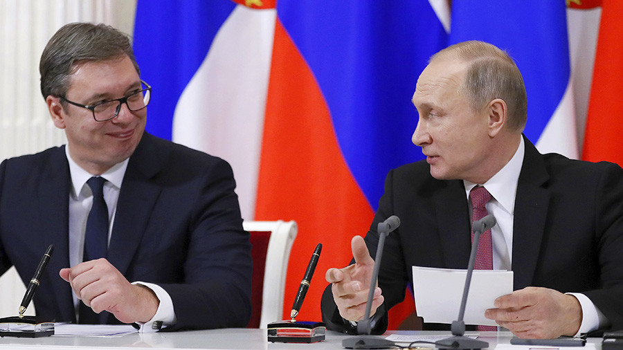 Russia wants to include Serbia in EEU free trade zone - Putin