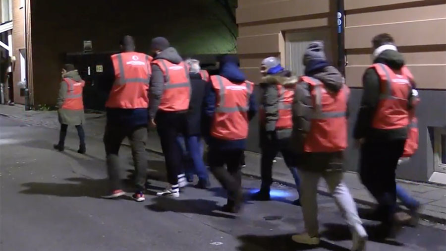 Swedish volunteers patrol Malmo streets after wave of gang rapes (VIDEO)