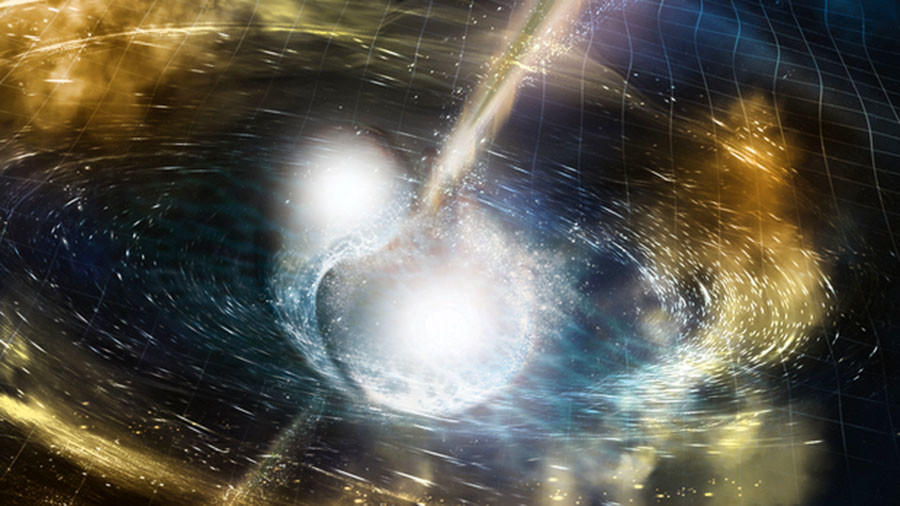 Neutron star merger left behind a black hole, study says