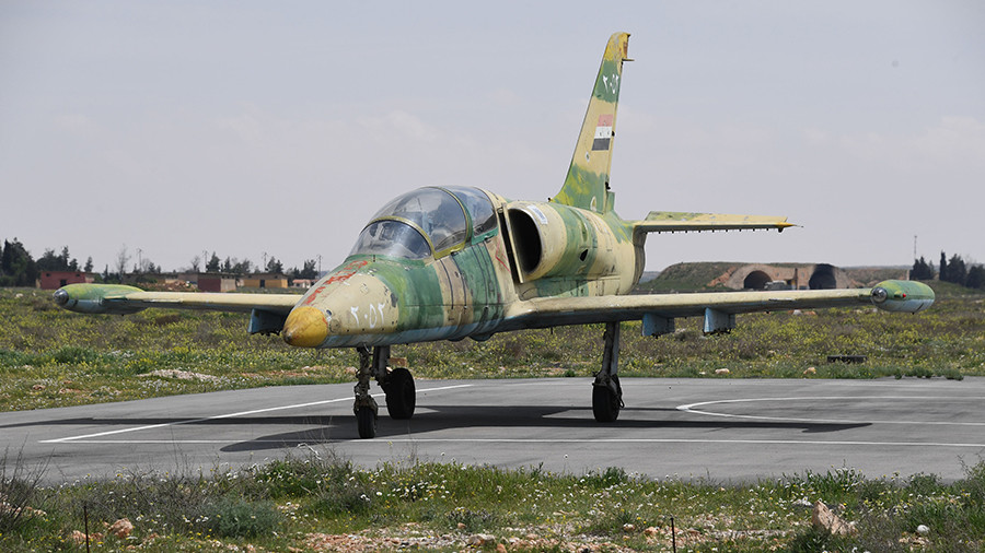 Syrian military jet downed by militants, pilot killed