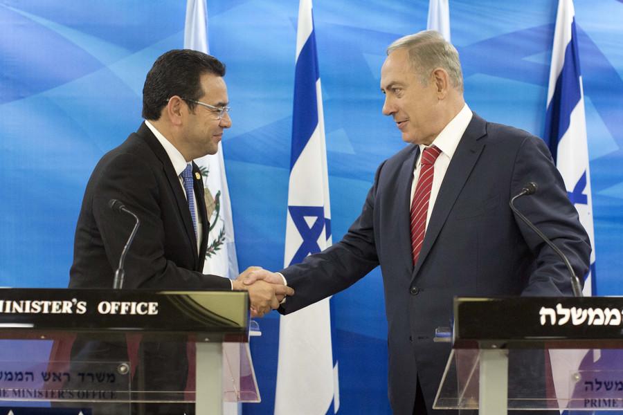 Top US aid recipient Guatemala insists Jerusalem move was 'sovereign decision'
