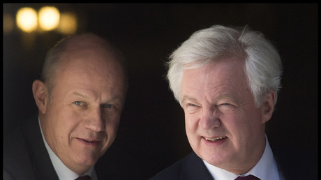 Damian Green (left) and David Davis (right). © Ben Stevens/ Global Look Press