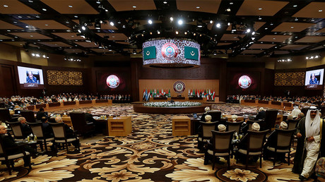 FILE PHOTO: Arab leaders and head of delegations attend the 28th Ordinary Summit of the Arab League at the Dead Sea © Muhammad Hamed