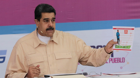 Maduro announces pre-sale of Venezuela's oil-backed cryptocurrency