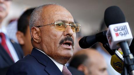 Yemen's former President Ali Abdullah Saleh. ©Khaled Abdullah