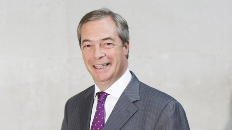 Anti-Europe Nigel Farage under fire for saying he will still take £70k EU pension