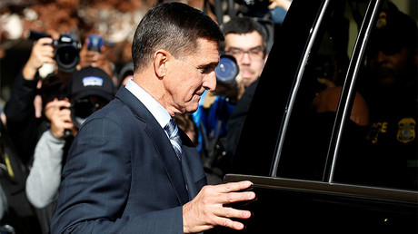 Former U.S. National Security Adviser Michael Flynn © Joshua Roberts