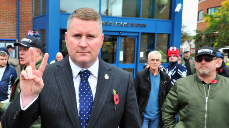Britain First deputy leader Jayda Fransen blamed for baby's stillbirth, court hears