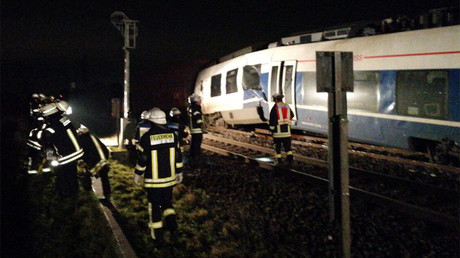 Dozens injured, some seriously in train collision near Dusseldorf (PHOTOS)