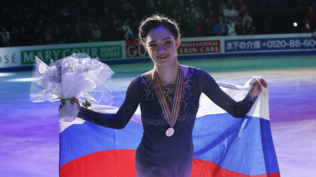Little white lie: Skater Medvedeva reveals Russian flag was hidden on OAR kit