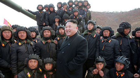 FILE PHOTO North Korean leader Kim Jong Un © KCNA