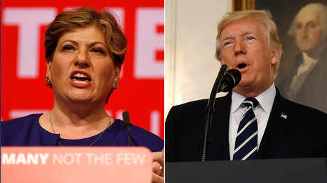 When will Britain stand up to Trump, asks Shadow Foreign Secretary in wake of US Jerusalem move
