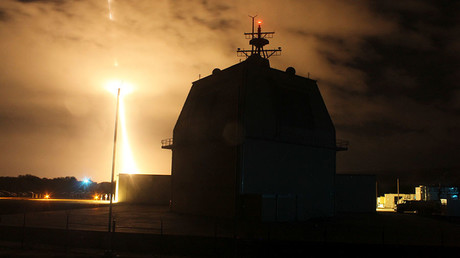 The Missile Defense Agency conducts the first intercept flight test of a land-based Aegis Ballistic Missile Defense weapon system from the Aegis Ashore Missile Defense Test Complex in Kauai, Hawaii © Leah Garton